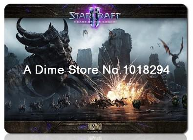StarCraft 2 mouse pad HD Wallpaper mousepad laptop keyboard computer gaming gamer play mats  -  A Dime Store store
