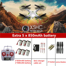 SYMA X5HC RC Drone With Camera Quadrocopter RC Helicopter SYMA X5C Upgrade Drones With Camera HD Automatic Air Pressure High(China (Mainland))