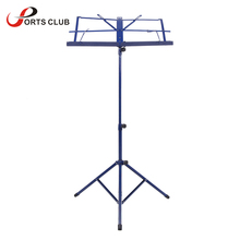 Hot Sale Foldable Lightweight Metal Material Sheet Music Stand Holder with Waterproof Carry Bag(China (Mainland))