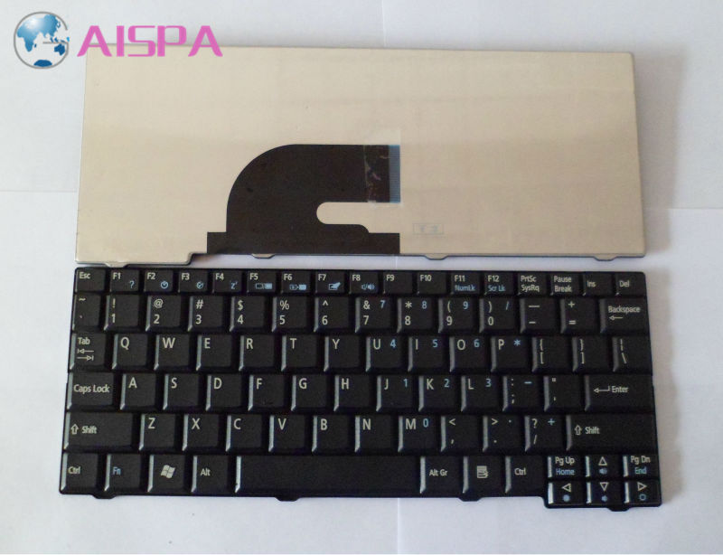 Original Genuine US Layout Keyboard Replacement for Acer Aspire One D150 D250 AOD250 KAV10 KAV60 Black(China (Mainland))