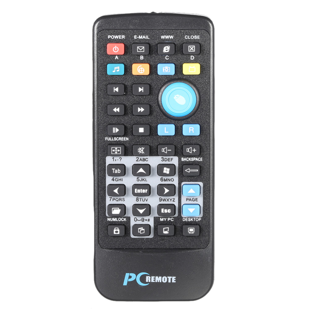 Multifunctional 2.4G Wireless Remote Control Media Network TV Controller PPT Pointer with USB 2.0 Receiver for PC Desktop Laptop(China (Mainland))