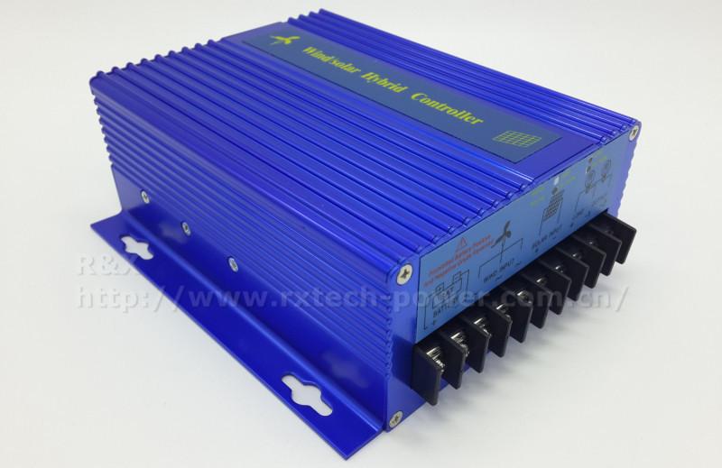 Купить 600 Вт Макс ветер/солнечный гибридный регулятор обязанности для 600 Вт ветряная мельница и 300 Вт панели солнечных батарей, 12 В/24 В контроллер заряда батареи