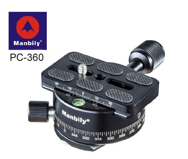 Manbily PC-360 Professional tripod heads,Universal pan head with Fast mounting plate<br><br>Aliexpress