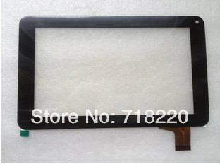 10pcs/Lot 7inch touch screen, capacitive touch screen,86V,86VS Tablet touch screen,30pin Black color