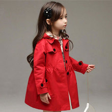 New 2015 Wind Coat Cardigan Jackets for Girls Brand Girls Spring Trend Style Girls Jackets Kids