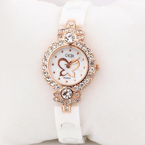 Korean Fashion Metal Texture High-grade Imitation Ceramics Diamond Women Watch Reloj De Acero Inoxidable Para Mujer Coste Watch<br><br>Aliexpress