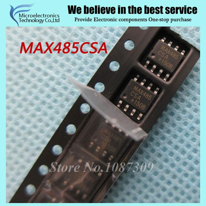 50pcs free shipping MAX485CSA MAX485CSA SOP-8 RS-422/RS-485 Interface IC RS-485/RS-422 Transceiver new original(China (Mainland))