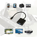 1080P Micro HDMI to VGA Female Video Cable Converter Adapter for PC Laptop Wholesale