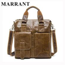 MARRANT Genuine Leather Men Bag Briefcase Fashion Man Business Handbag Men's Messenger Bags Brand Male Shoulder bag Tote 8259(China (Mainland))