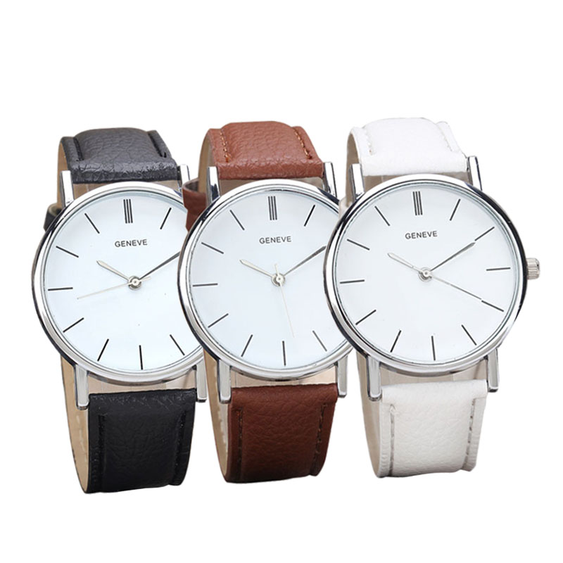 2015 Promotion Price! 1PC New Womens Retro Design Leather Band Analog Alloy Quartz Wrist Watch Classic Top Brand Reloj Montre<br><br>Aliexpress