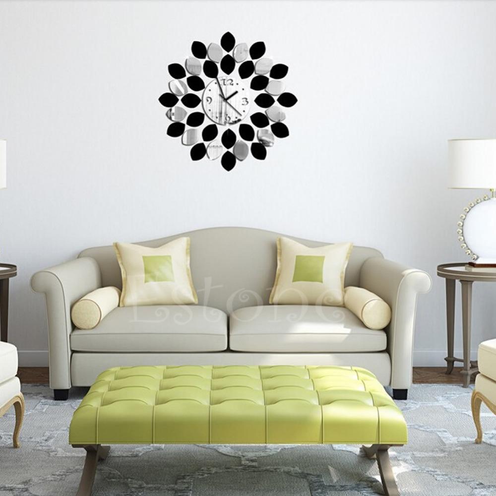 Compra pegatina de vinilo reloj de pared online al por for Vinilos pared aliexpress