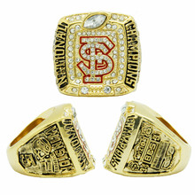 NCAA 2013 Florida States Seminoles BCS National Championship Ring, Custom Ring, Couple Wedding Gift Rings For Men(China (Mainland))