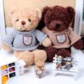 Genuine hug teddy bear urso de pelucia plush toys 38cmChildren Ai Taidi Recording BearsTeddy Bear Gift