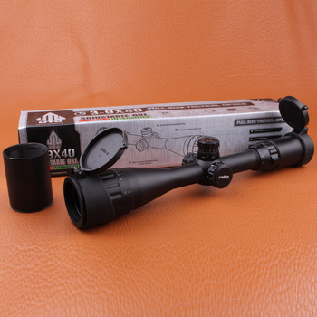 Охотничье Снаряжение 3-9X40 АО Тактический оптический прицел Охота RifleScopeFull Размер Mil-Точка R & G llluminate для Охотника