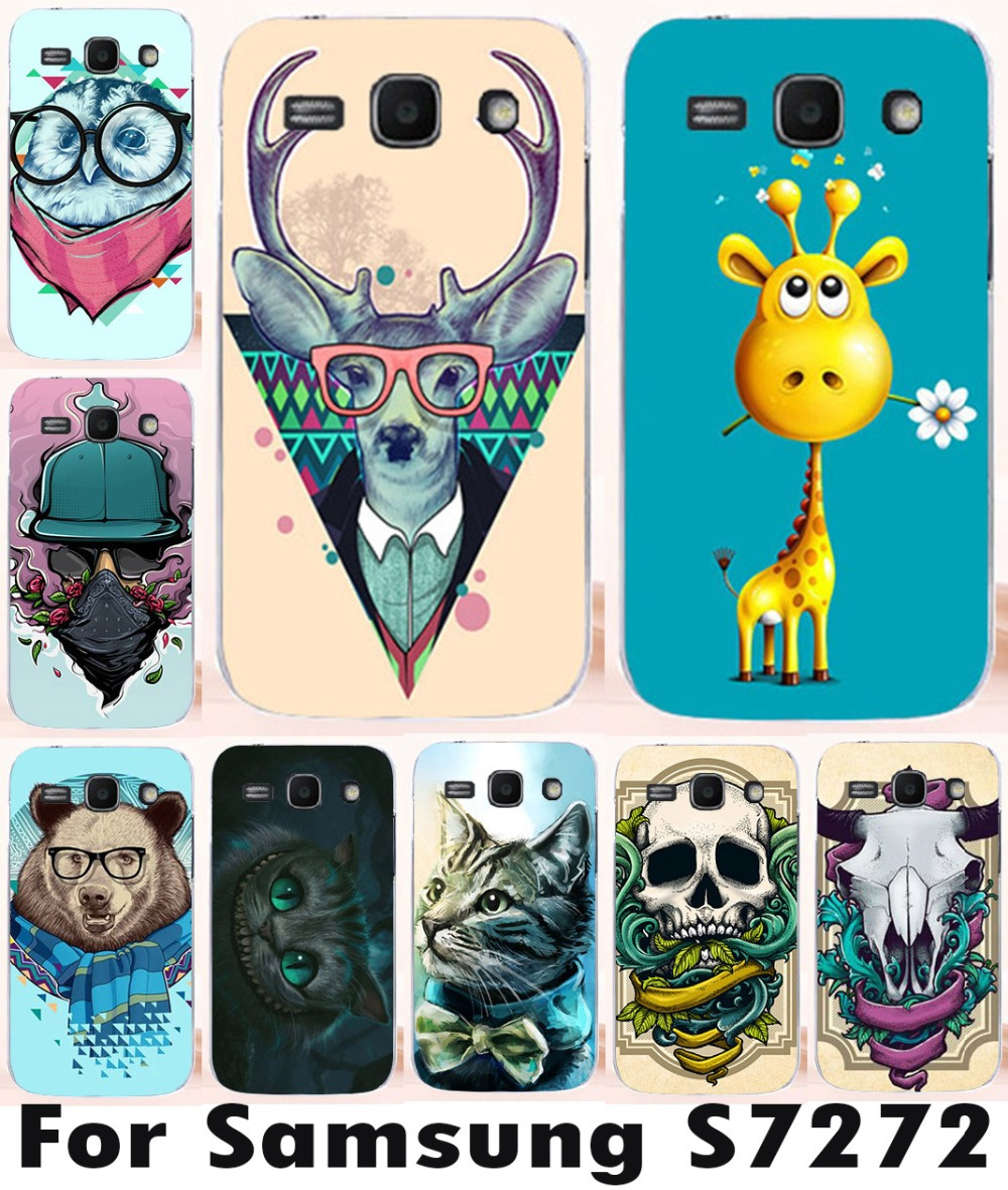 Customized Painting Cellphone Skin Cover Cases For Samsung Galaxy Ace 3 III S7270 S7272 mobile phone case(China (Mainland))