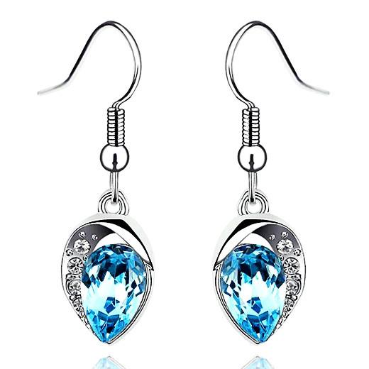 Гаджет  Trendy Women Crystal Earring Hood Eardrop Classic Rhinestone Charm Water Drop Earings Brinco Fashion Jewelry  None Ювелирные изделия и часы