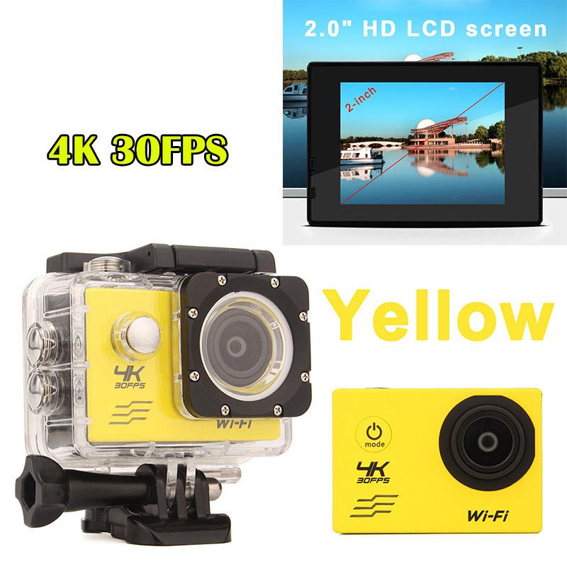 HOT F60 Sports Action Digital Camera 4K Waterproof Photo Camera 2.0 inch Screen Camera Video Recorder Mini Camcorders(China (Mainland))