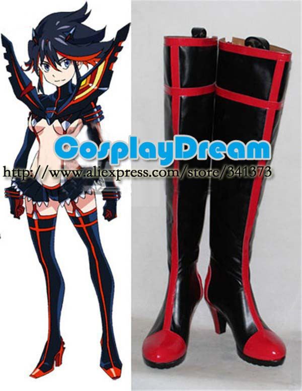 Customize boots Kill la Ryuko Matoi Cosplay Boots anime party cosplay shoes - CosplayDream Store store