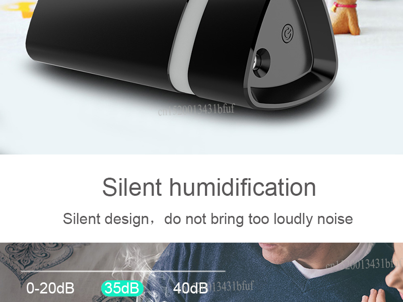 280ML Car USB humidifier led aromatherapy diffuser perfume air mist maker blue led light auto essential oil diffuser
