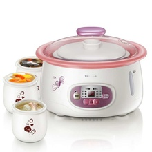 DDZ-125TA electric stew pot 2.5L double insulation against hot case 4 inners(China (Mainland))