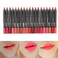 1/19 Colors Sexy Beauty Makeup Lip Gloss Lip Pencil Pen Lipstick Waterproof