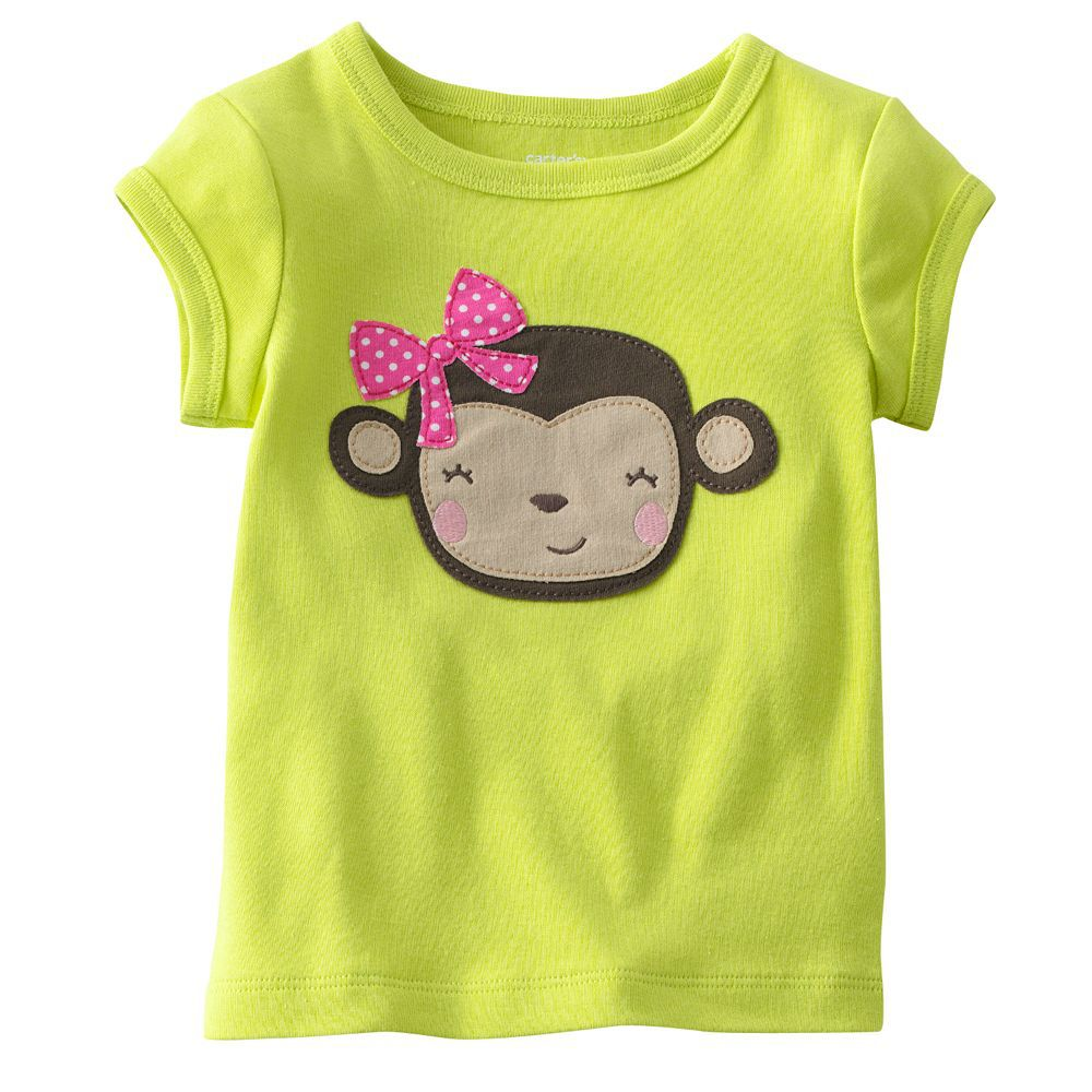 Cute Kids T Shirt Girls Boys Clothes Cotton Chldren