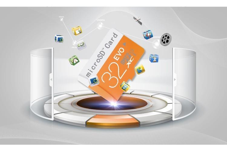 10/lot Evo micro sd card logo class 10 memory card 4GB 8GB 16GB 32GB 64G TF card flash drive micro sd free card reader + adapter(China (Mainland))