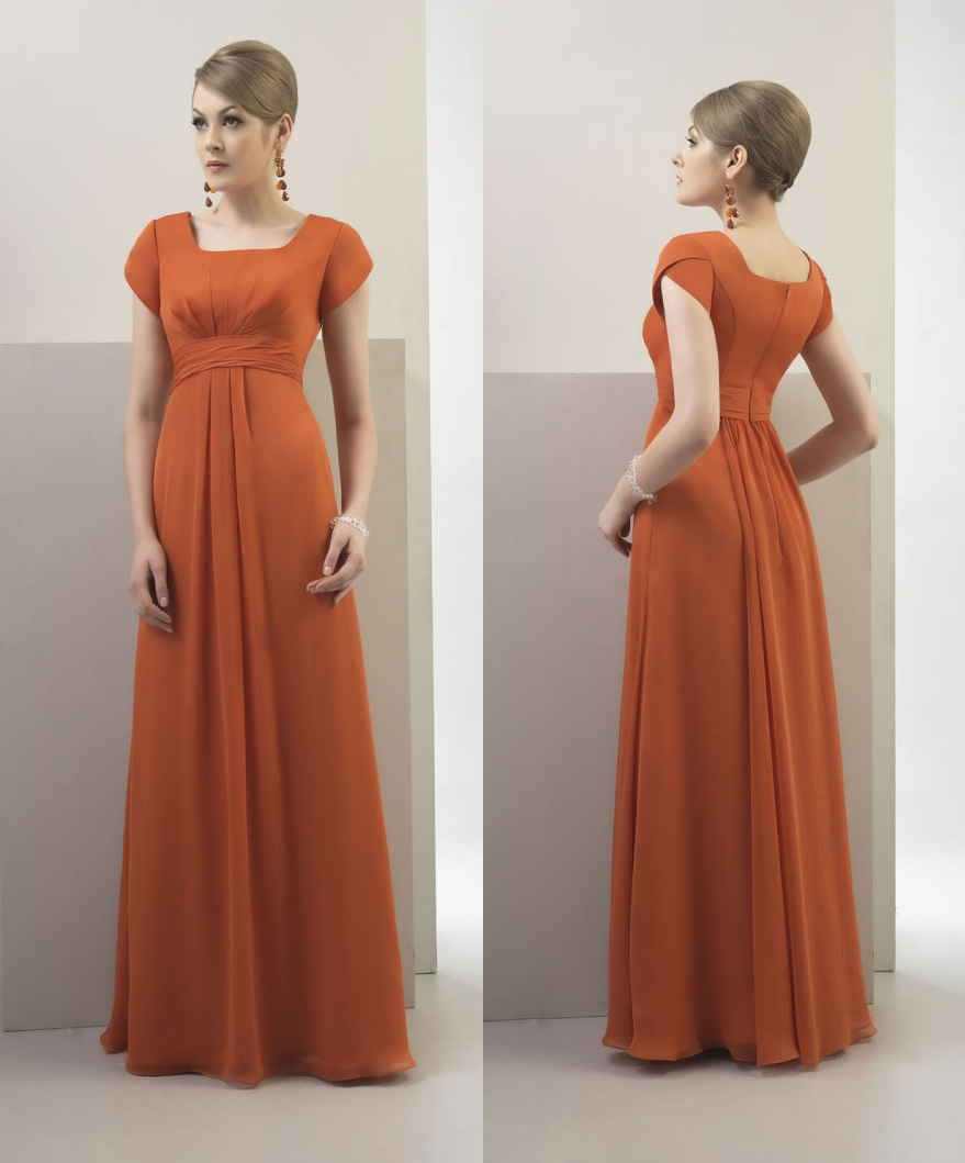 Burnt orange bridesmaids dresses gallery braidsmaid dress compare prices on long burnt orange dress online shoppingbuy low burnt orange chiffon long modest bridesmaid ombrellifo Images