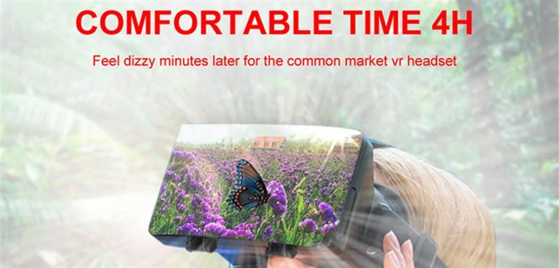 image for Eye-careful Smart 3D VR Glasses Head-mounted Virtual Reality Glasses T