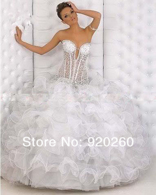 Gorgeous Sexy 2013 Organza Prom Dress Ball Gown Pageant Dress Party Ball Customevening party cocktail Prom celebrity dresses(China (Mainland))