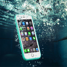 Newest hot slimmer waterproof Shockproof Dustproof Case For iphone SE 5SE 5S Cover Soft silicon Coque Fundas cover touch screen