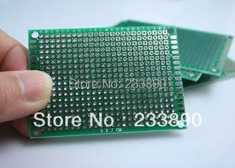Double-side Prototype PCB Production Manufacturing Prototype Printed Circuit Board 2x8 3x7 4x6 5x7CM