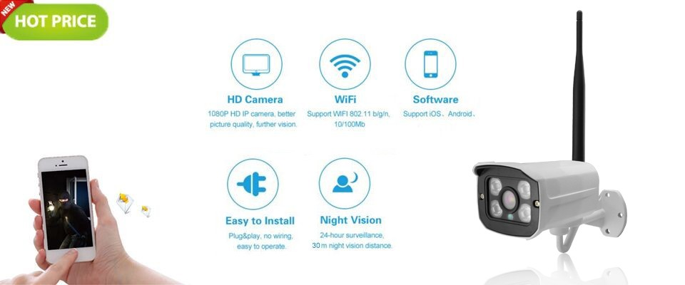 POE Audio 1080P HD 2.0MP indoor dome P2P Onvif network IP security camera microphone