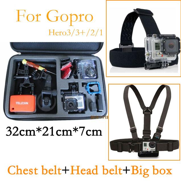 Сумка для видеокамеры Oem & /sj4000 Gopro Hero3 + Hero3 Hero4 HD YC0420 электроника telesin gopro gopro 360 hero3 gopro hd hero 3 gopro hero4 sj4000 gp wfs 101