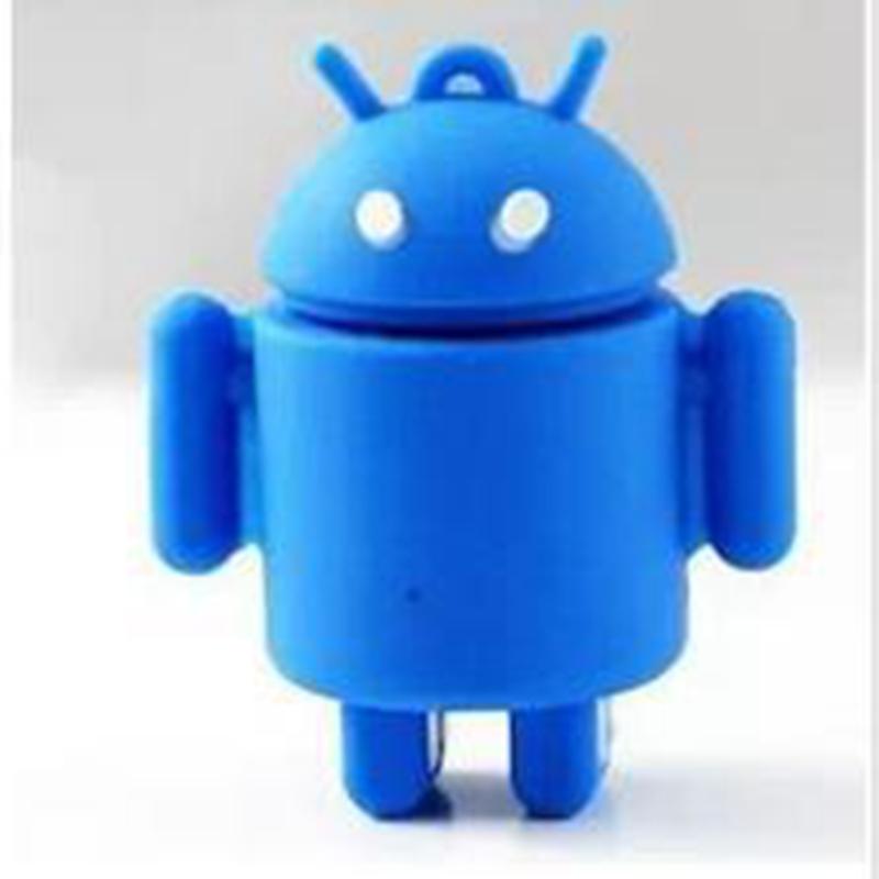 Cartoon Android robot usb flash drive pendrive usb2.0 disk 2gb 4gb 8gb 16gb 32gb 64gb gift pen drive memory USB stick(China (Mainland))