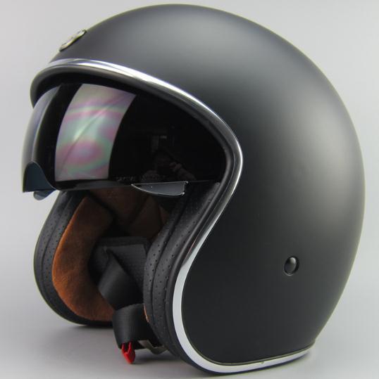 T57 torc motorbike helmet Jet Style Motorbike helmet Chopper bike helmet with black sunglass(China (Mainland))