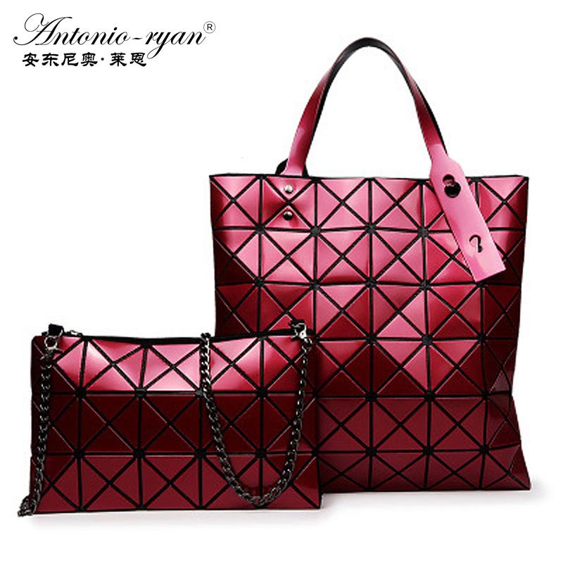 Antonio Ryan Brand new fashion stitching Crossbody bag trend of radiation handbag Top-handle shoulder bags single handbags(China (Mainland))
