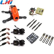 Buy Robocat 4-Axis Carbon Fiber Quadcopter, OrangeFrame 12A ESC & MT2204 2300KV motor CC3D FC contains camera diy RC drone for $79.43 in AliExpress store