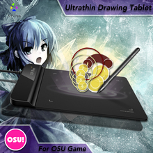 The XP-Pen G430 4 x 3 inch Ultrathin Graphic Drawing Tablet/Pen Tablet for OSU with Battery-free stylus- designed! Gameplay(China (Mainland))