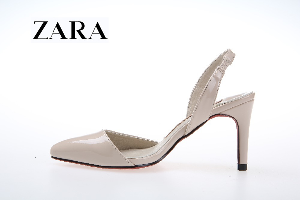 Red bottom heels Black/Red/Nude color/beige pointed heels small size high heel shoes free shipping(China (Mainland))