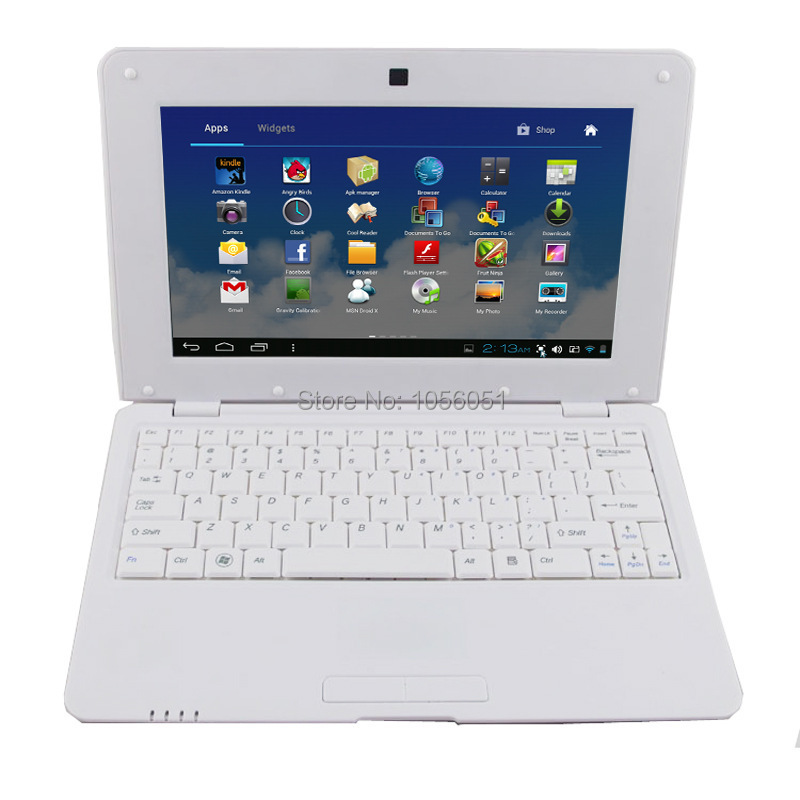 10 inch laptops on sale Android 4.2 VIA8880 CORTEX A9 1.5Ghz 512MB DDR3 4GB 1024x600 Screen Wifi HDMI mini netbook computers(China (Mainland))