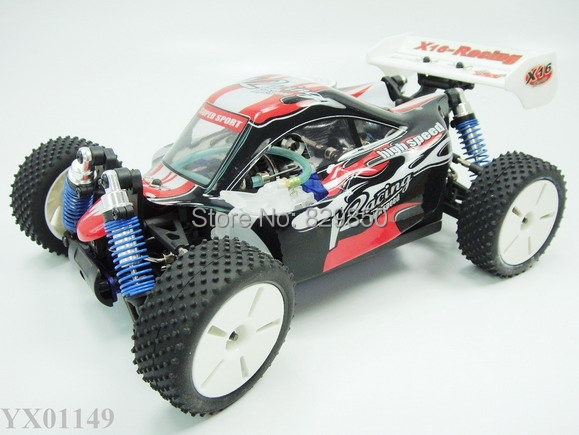 1:16 RC truck Nitro Gas GP 05 Engine 4WD Racing Mini Buggy Car RTR radio remote control cars toy(China (Mainland))