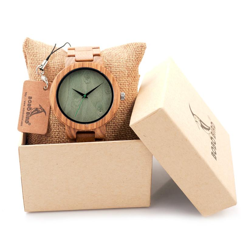 БОБО ПТИЦА Мужчины Наручные Часы Деревянные Группа Японии Move' 2035 Кварц Деревянные Часы для Мужчин Подарки D07