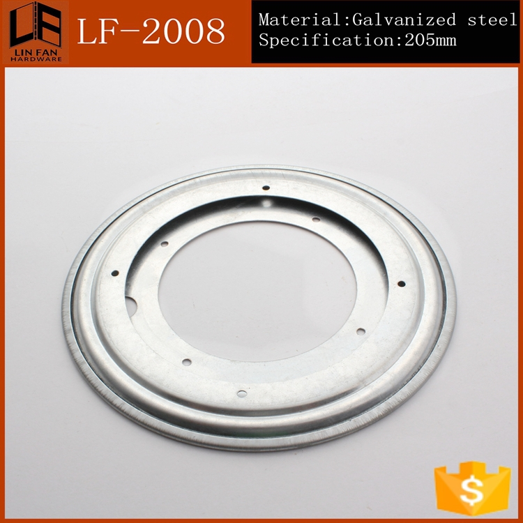 """furniture dining table 8 inch ball bearing swivel plate,8"""" round table bearing(China (Mainland))"""