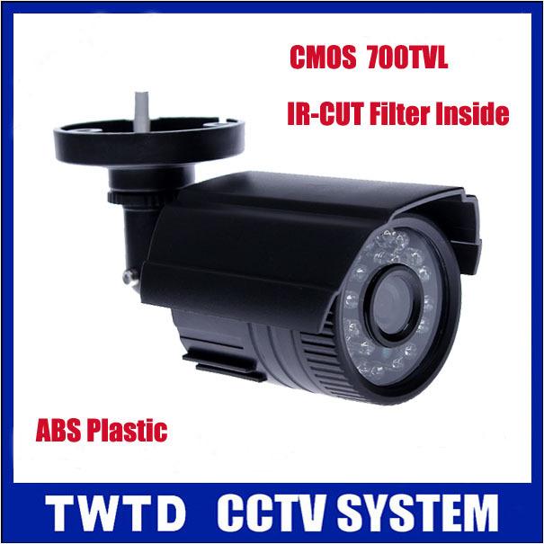 CCTV Camera High Quality 700TVL IR Cut Filter 24 Hour Day/Night Vision Video Outdoor Waterproof IR Bullet Surveillance Camera(China (Mainland))