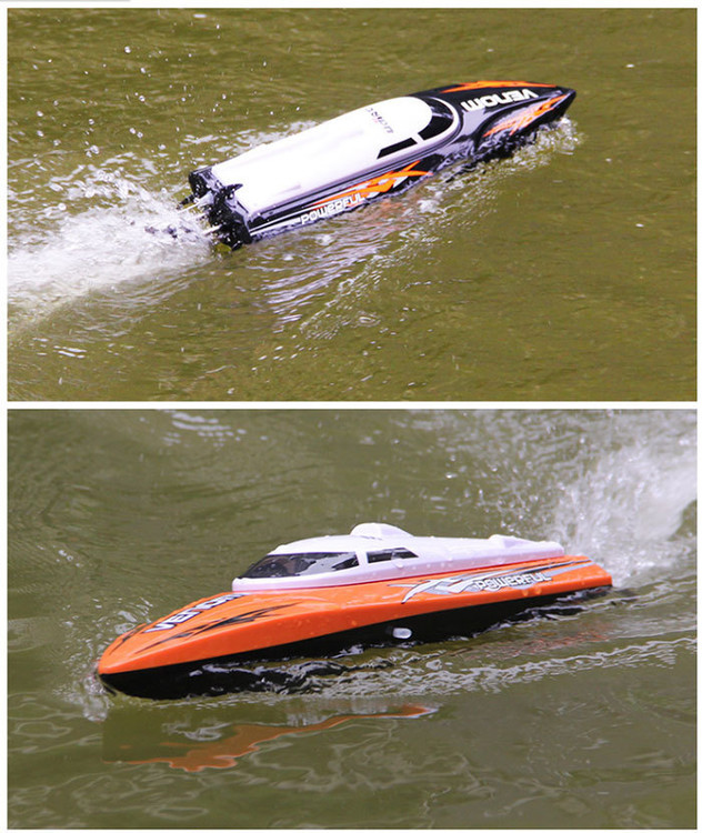 8.25 Promotion UDI Toys 001 Super 2.4G High Speed RC Boat Electric Motorboat 4CH Model can Righting Remote Control RC Speedboat(China (Mainland))