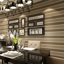 Italian Style Modern 3D Embossed Strip Wallpaper For Living Room Silver And Gray Striped Wallpaper Roll Desktop Wallpaper N424(China (Mainland))