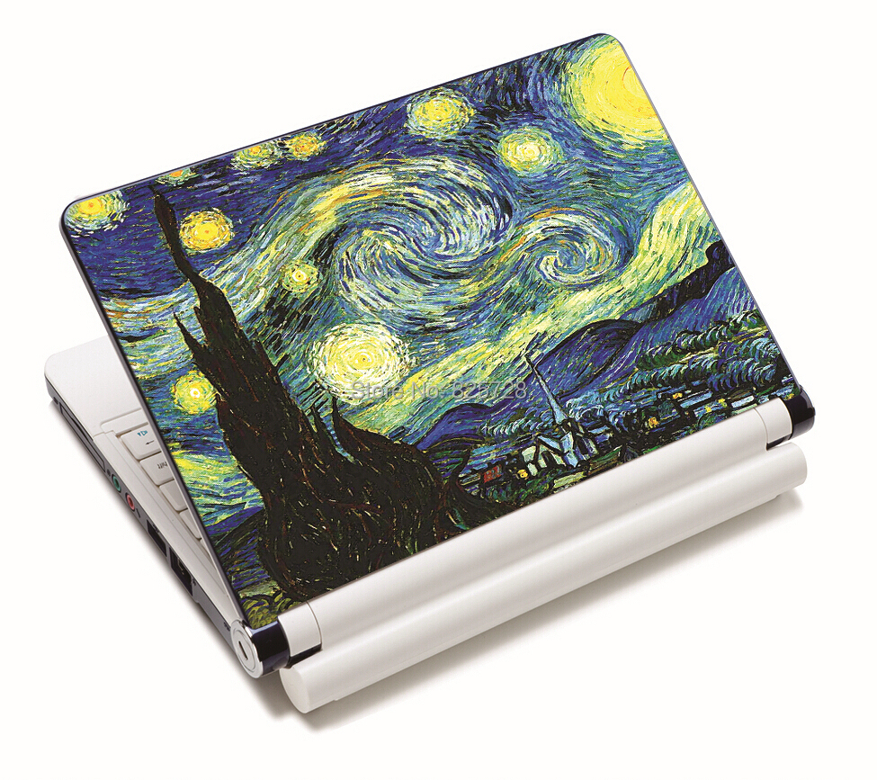 Van Gogh Starry Night Universal Laptop Decal Sticker Protector Skin For 11.6 12 1313.3 14.1 15 15.4 15.6 Inch Laptop Notebook<br><br>Aliexpress