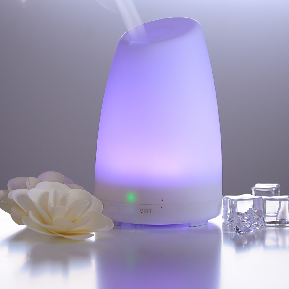 Home Office Mini Aroma Air Diffusers Ultrasonic Mist Led Humidifier 120 Ml Bedroom Ac Power In