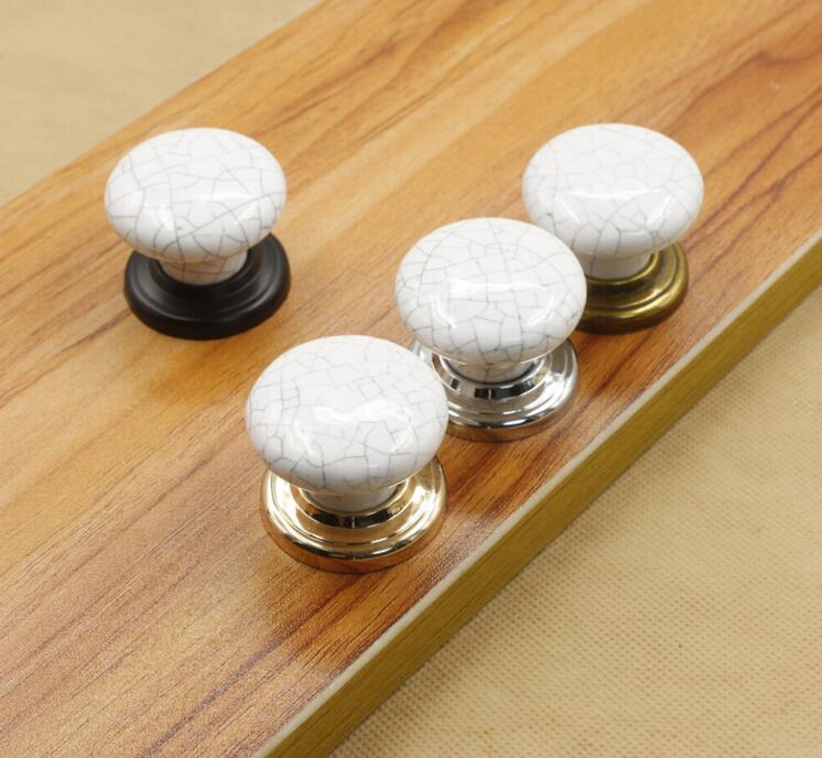 Marble Texture Ceramic Furniture Knob Vintage Cabinet Pulls<br><br>Aliexpress
